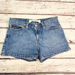 Vintage Gap Jeans Denim Mom Shorts 28